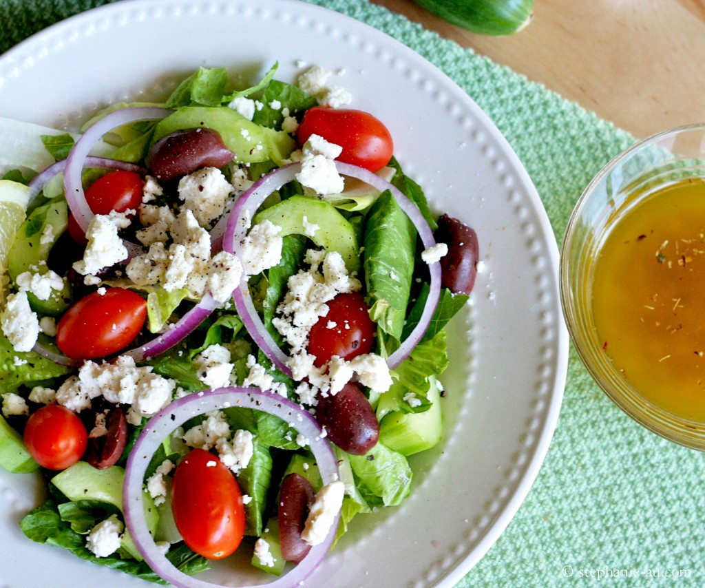 Crispy Greek Salad