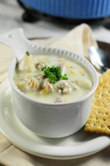 Slow Cooker Clam Chowder 2