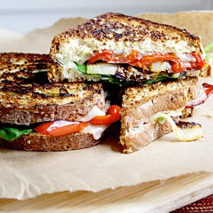 feast-grilled-cheese-sandwich-vegetable-veggie-pepper-provolone-cheese ...