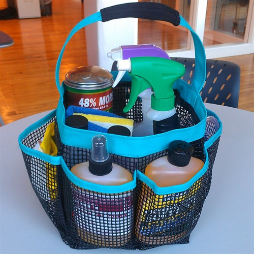 cleaning tote supplies easy cleaning fast gloves solution
