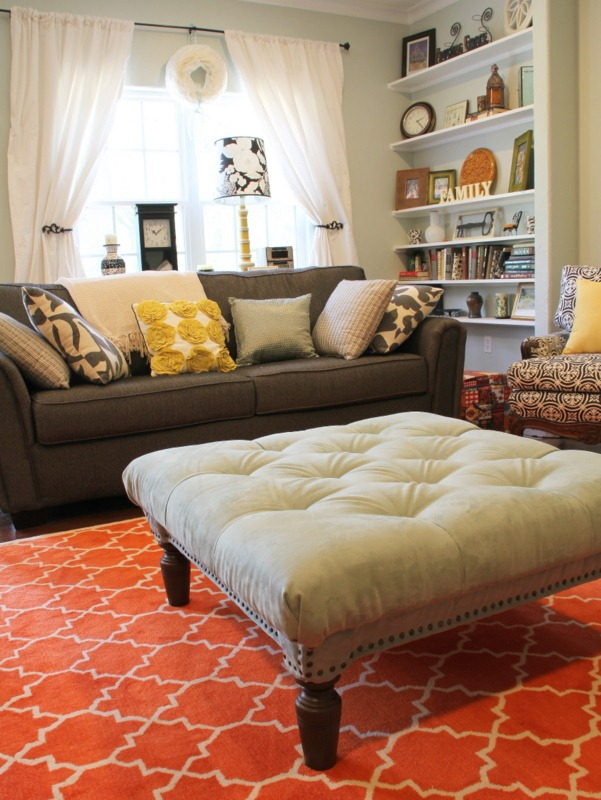 diy tufted ottoman furniture easy decor cheap 11