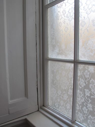 Diy easy window privacy screens with fabric and for Privacy window screen