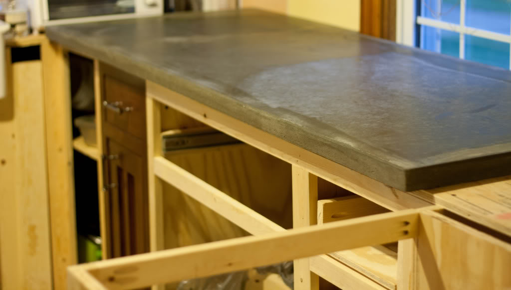 pour your own concrete counter tops easy cheap diy 8