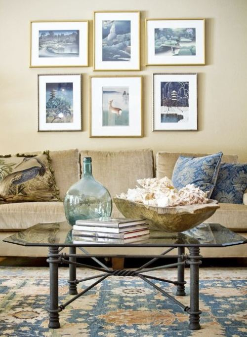 watery palette decor decorating seaside shades beachy