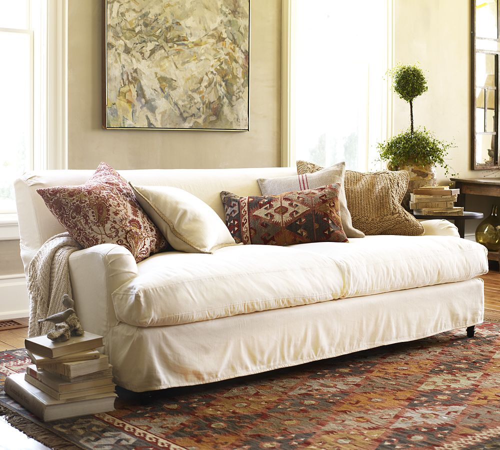 How to Choose the Right Slipcover – Makeover Your Couch in ...