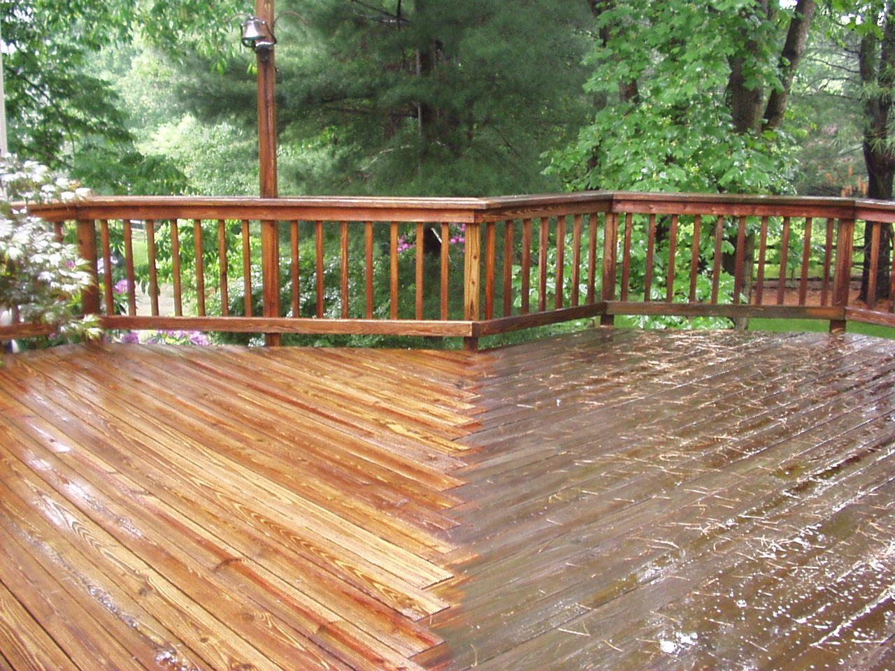 Speed Cleaning Use A Power Washer To Make Your Deck Look
