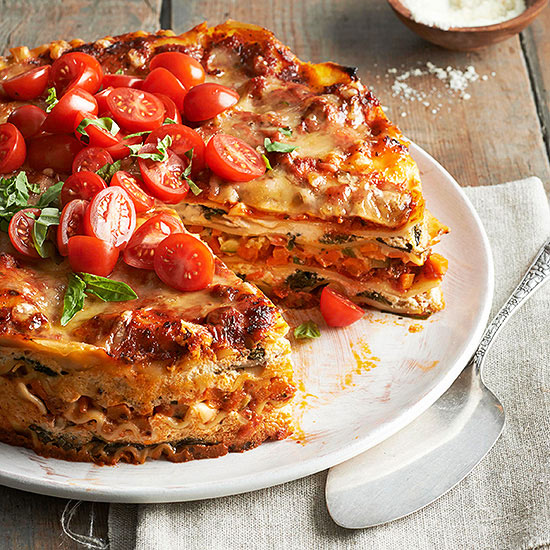 Italy on a Plate Stacked Vegetarian Lasagna Pie & Italy on a Plate: Stacked Vegetarian Lasagna Pie | Better HouseKeeper
