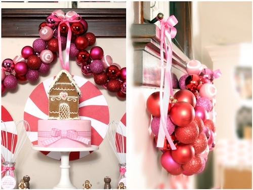 Christmas DIY: Make This Glam Ornament Garland budget diy project craft holidays decor decorations5