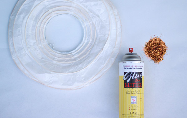 New Year's Party DIY: Glitter Paper Lanterns3