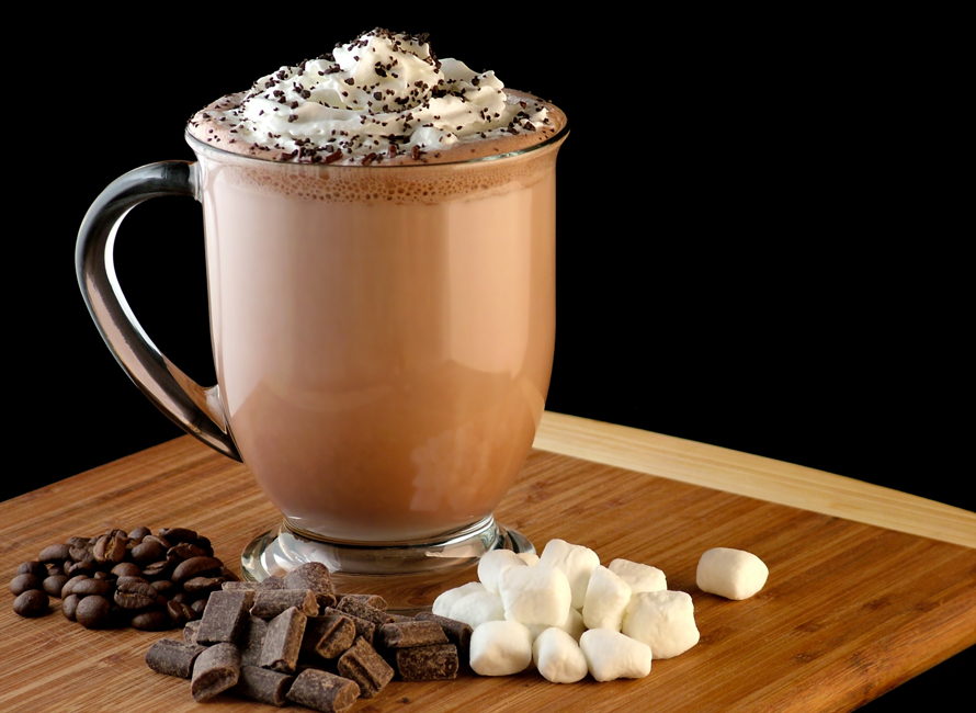 A Twist On The Classic Hot Chocolate Mocha Coffee