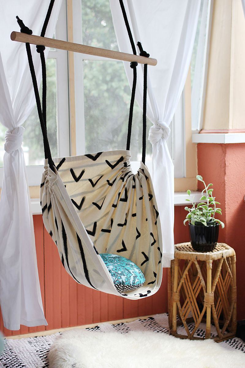 Tutorial: Make This Hammock Chair for Your Porch or Kid's Room!1
