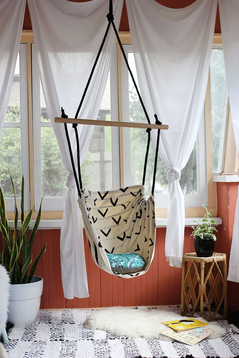Tutorial: Make This Hammock Chair for Your Porch or Kid's Room!9