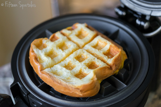 10 Different Ways You Can Use Your Waffle Iron - It's Not Just for Waffles Anymore! cheeseburgers brownies eggs sandwiches pizza pretzels hot dogs easy fast kids dorm cooking15