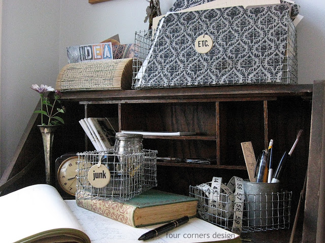 DIY: These Adorable Shabby Chic Wire Baskets are So Easy to Make, and They're Budget-Friendly!11