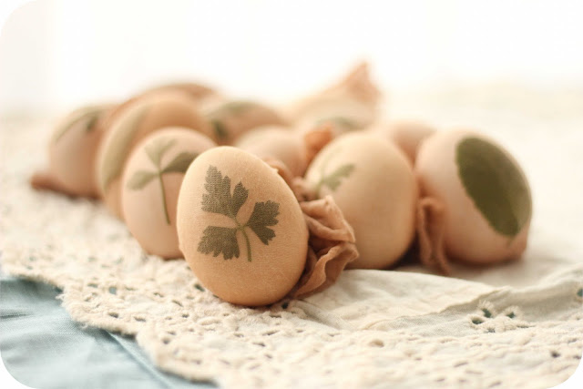 How to Decorate Easter Eggs Using Herbs and All-Natural Vegetable Dyes!6