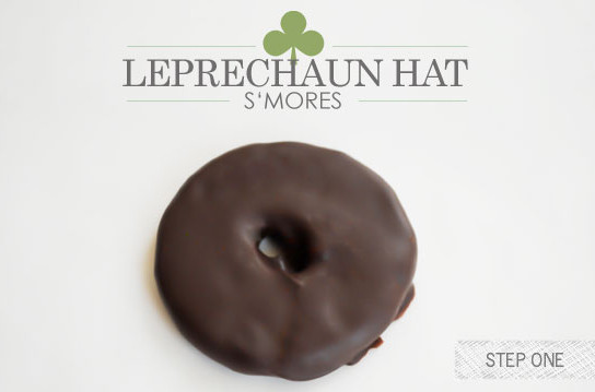 St. Patrick's Day leprechaun Hats Made From Cookies, Marshmallows, and Melted Chocolate!11