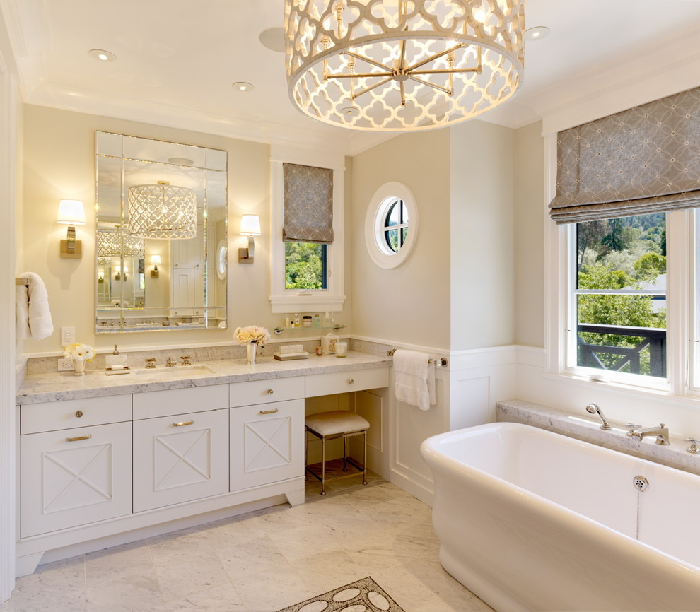13 Dreamy Bathroom Lighting Ideas: How To Choose The Right Chandelier + Our Fabulous Finds