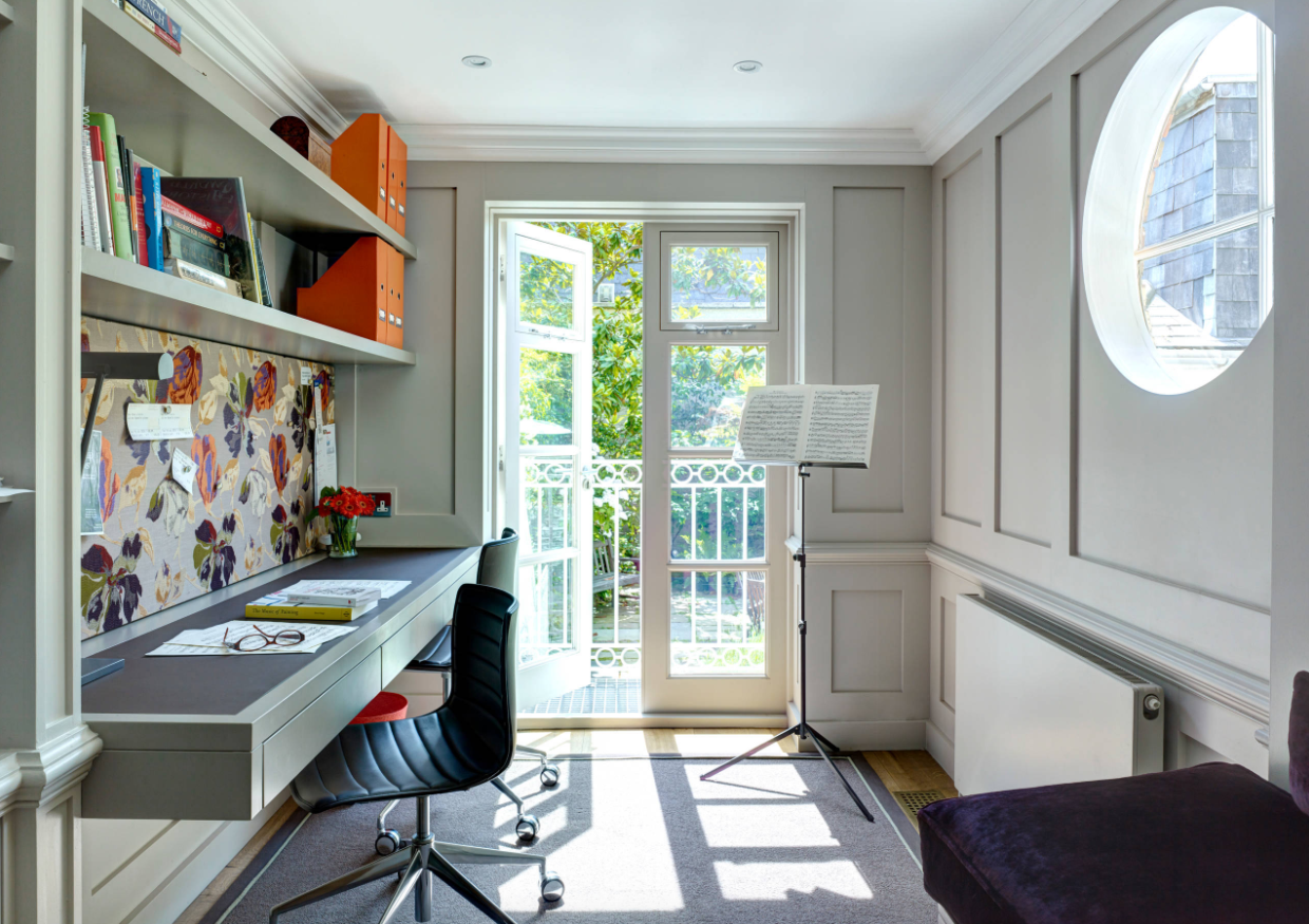 5 helpful hints for organizing your home office better for Home office makeover ideas