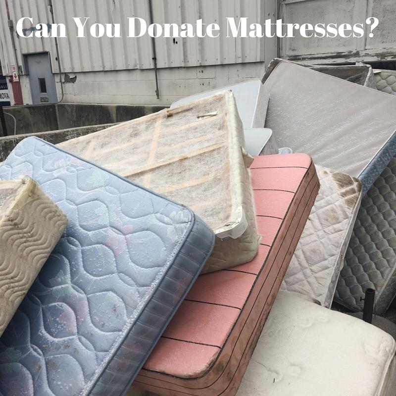 donating mattresses