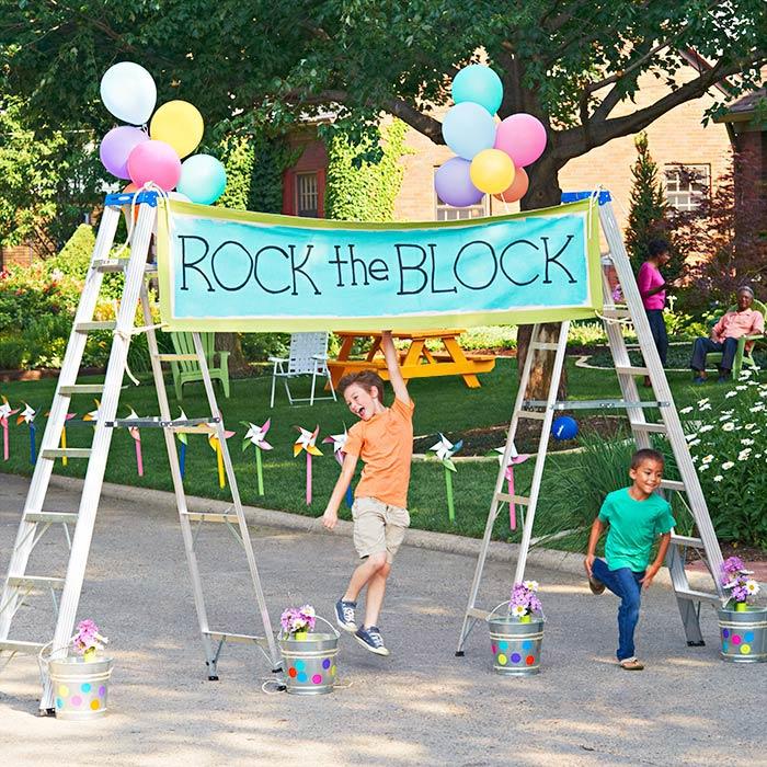 neighbourhood block party community street ideas how to organize