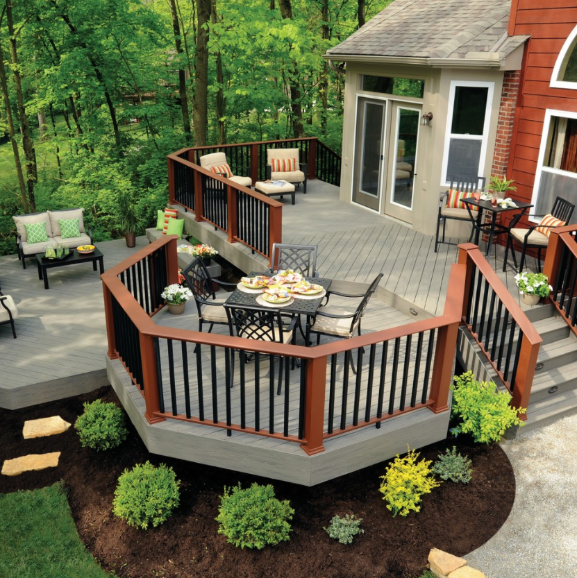 outdoor backyard deck ideas