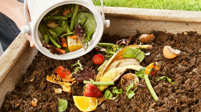 vegetable scraps and food for composting how to