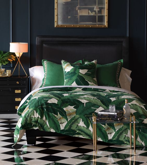 banana leaf duvet cover how to choose