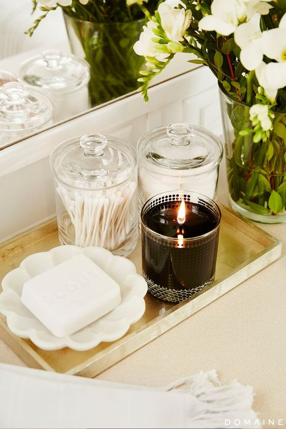 bedroom decorating ideas candle guest
