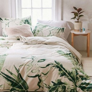 how to choose the right duvet cover palm leaves decorating