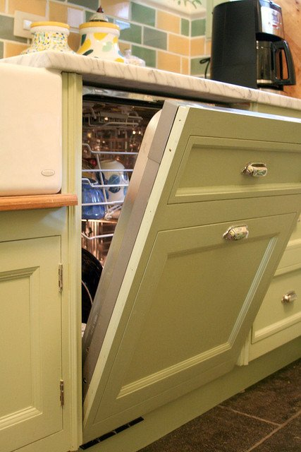 concealing hiding a dishwasher ideas how to