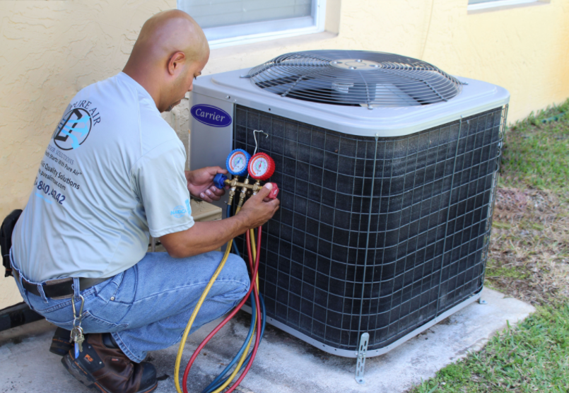 hvac maintenance repair allergies how to
