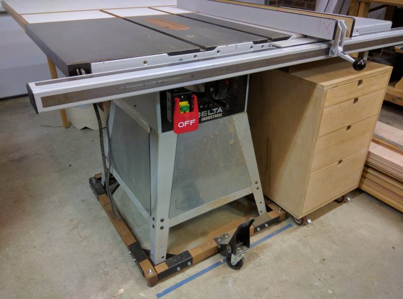 table saw with magnetic switch safety tips techniques