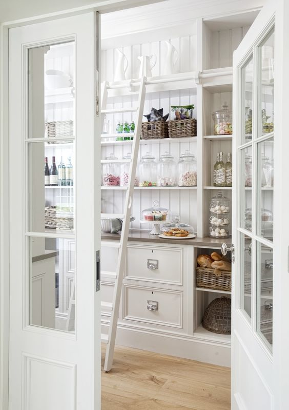kitchen pantry decorating country french ideas
