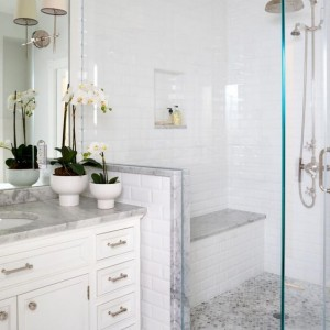pretty bathroom shower decor ideas