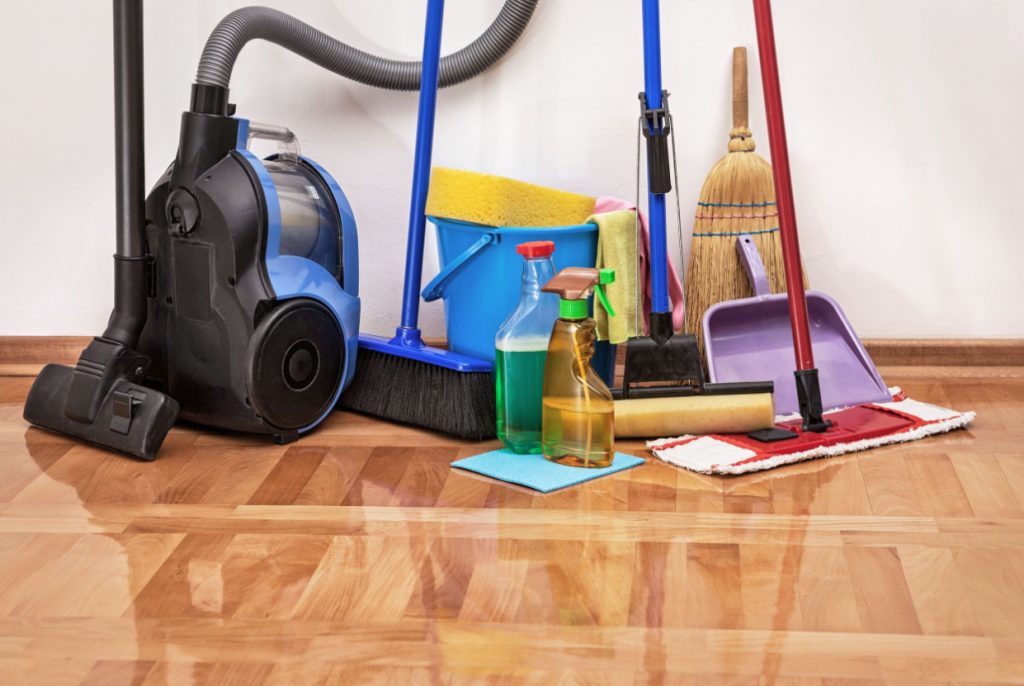 An Infographic On Maintaining Hardwood Floors Better Housekeeper