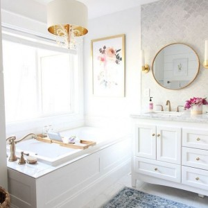 bathroom marble decorating ideas chandelier remodel