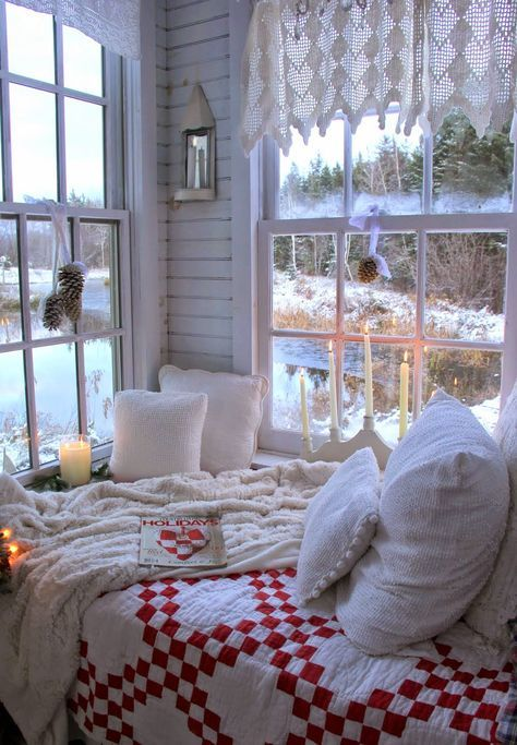 cozy bedroom winter nook ideas