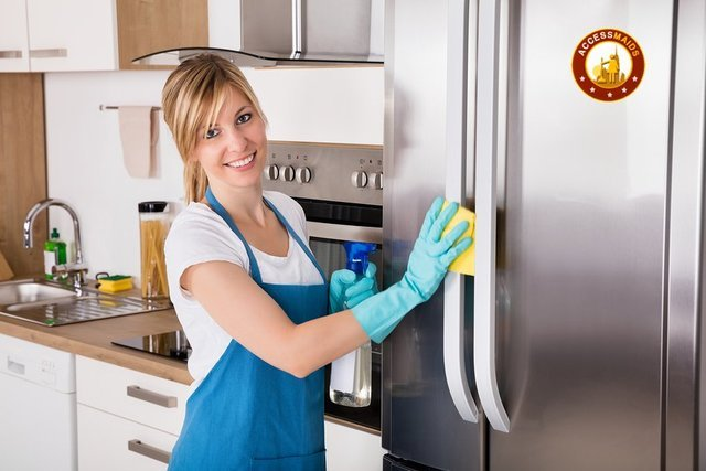 maid service cleaning your home