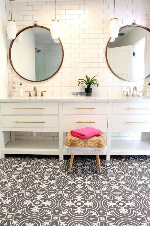 pretty morroccan tiles decor ideas bathroom