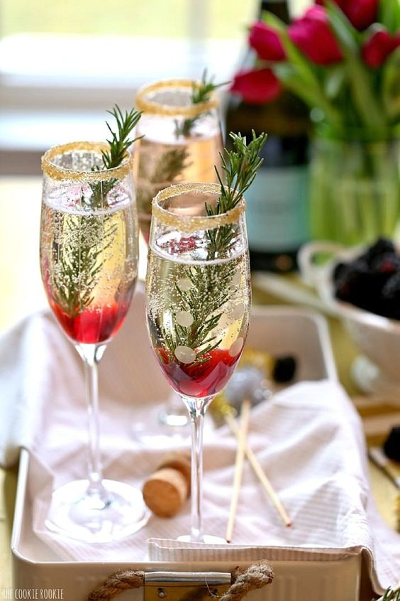 christmas champagne ideas recipes how to