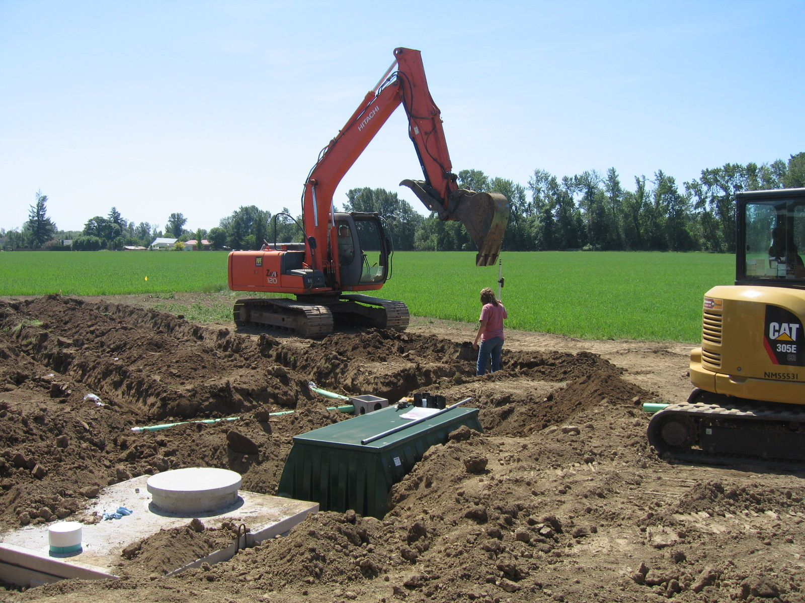 Back Yard Excavation : Backyard excavation tips to using the right tracks on