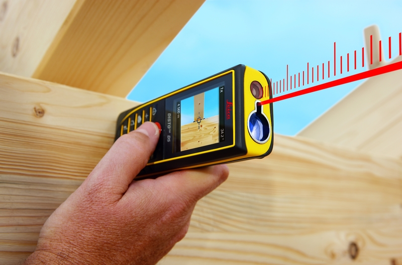how to make work easier with a laser tape measure better housekeeper. Black Bedroom Furniture Sets. Home Design Ideas