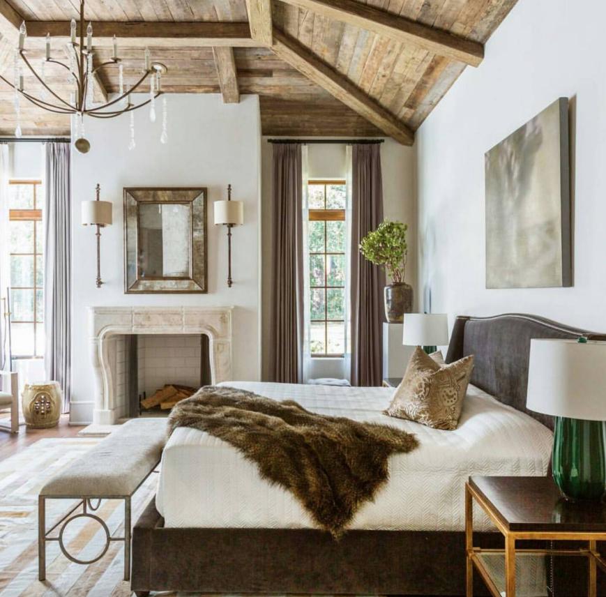 Transforming Your Boring Bedroom Into A Farmhouse Glam
