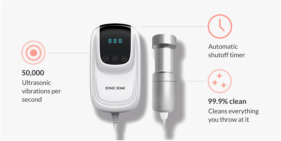 Spotlight on: Sonic Soak – The World's Smallest Cleaning Device