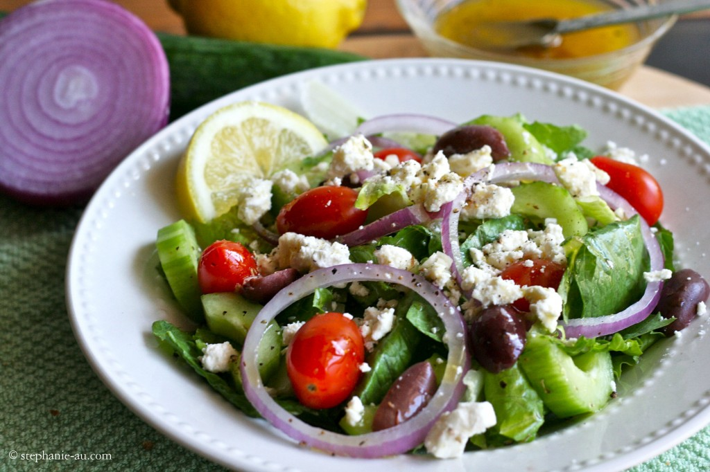 Crispy Greek Salad1