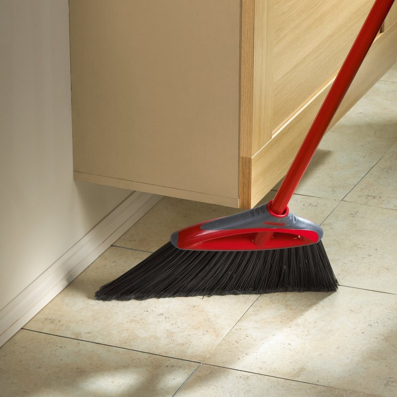 choosing the right broom corn angled synthetic push cleaning floors hardwood tile