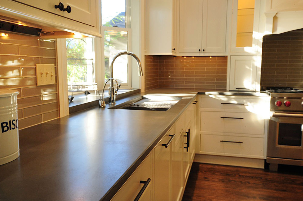 cement kitchen countertops save money and pour your own concrete kitchen counter tops 803