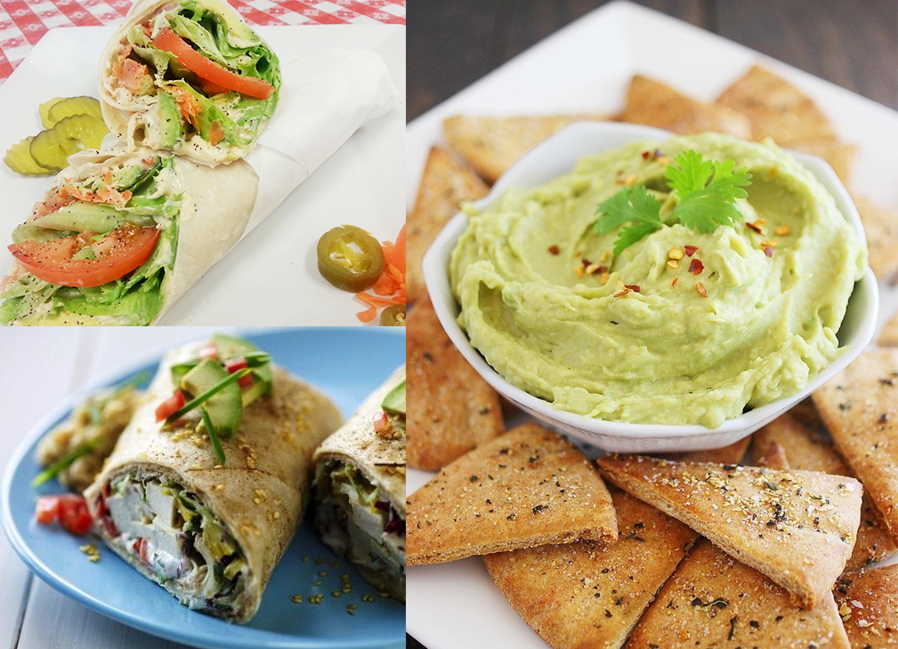 hummus wrap recipe easy dip cucumber tomato tortilla seeds how to easy snack healthy diet cooking
