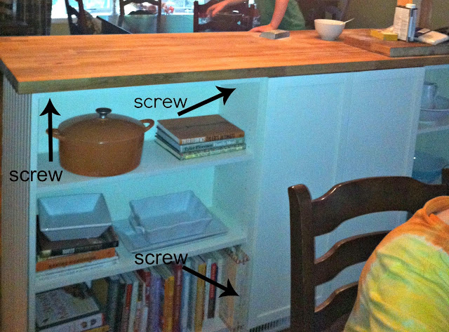 ikea hack make your own kitchen island diy
