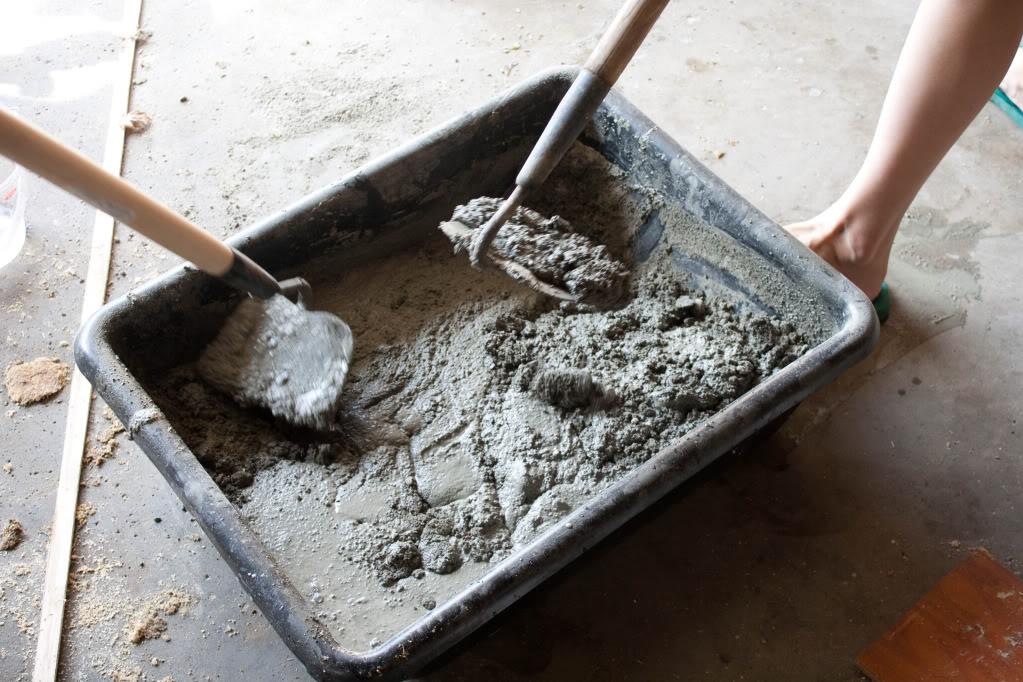 pour your own concrete counter tops cheap diy easy money saving